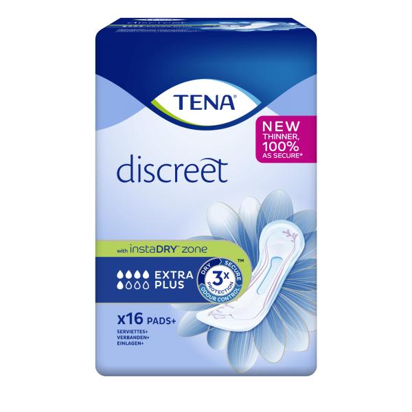 TENA Lady Discreet Extra Plus - 16 Stuks