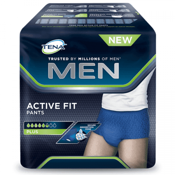 TENA Men Active Fit - Medium - 12 Stuks