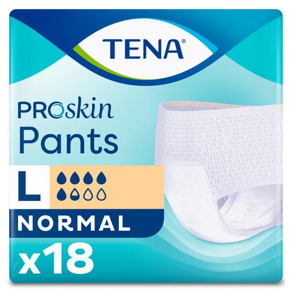 TENA Pants Normal ProSkin - L - 18 Stuks