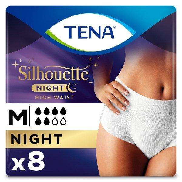 TENA Silhouette Lady Pants Night - Medium - 8 stuks