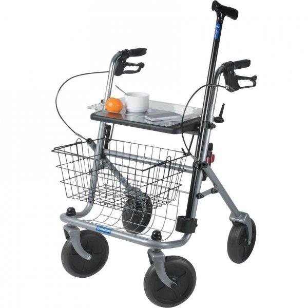 Quatro Rollator - Grijs