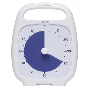 Time Timer Plus - 120 minuten - Wit