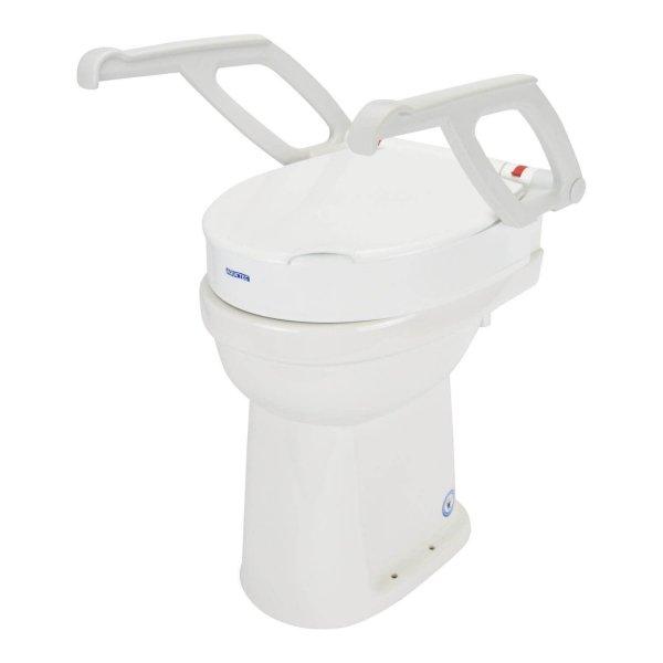 Toiletverhoger Aquatec 90000 met Armleuningen-6 cm
