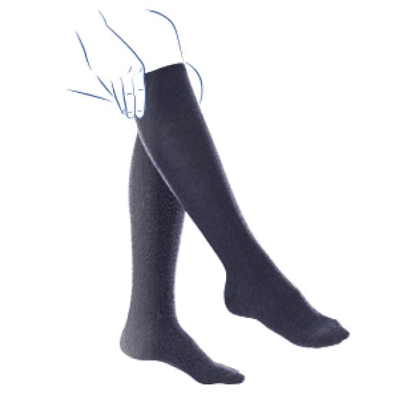 Venoflex Fast Coton 2 Sokken Dames Zwart-3