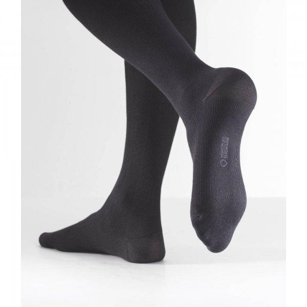 Venoflex Fast Coton 2 Sokken Heren Lang Zwart-4