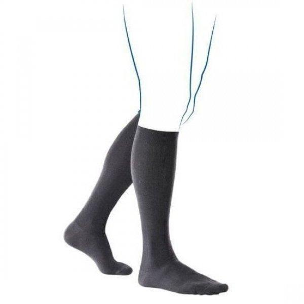 Venoflex Fast Coton 2 Sokken Heren Zwart-2