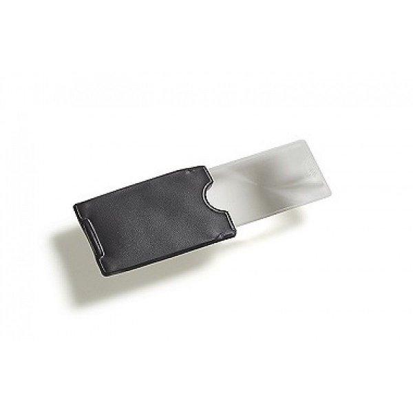 Vergrootglas creditkaart