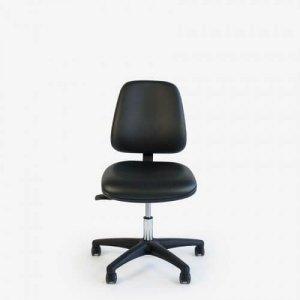 Werkstoel met rugleuning