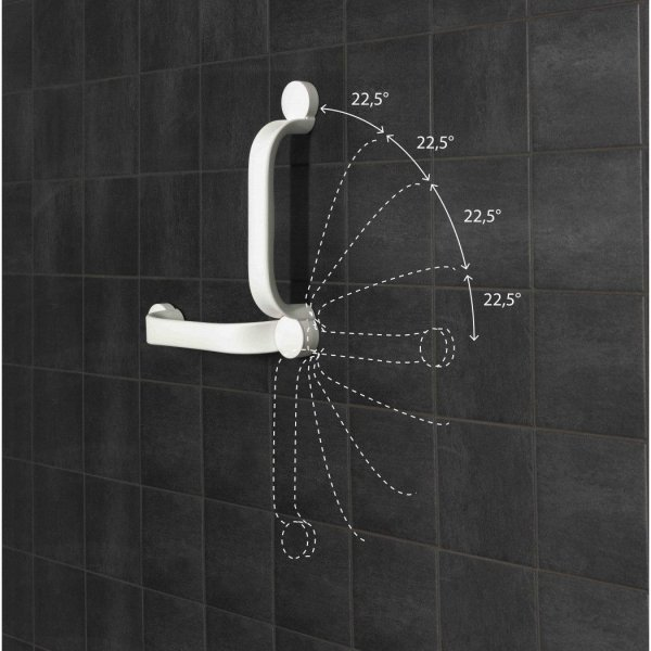 Etac Flex Wandbeugel Schroefmontage - Grijs-90 cm