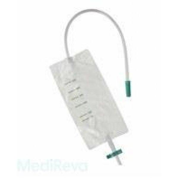 Urine-Beenzak Hekura 500ML+Slang 60 CM Kruiskraan